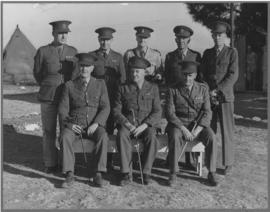 SAR&H Brigade. Group of officers.