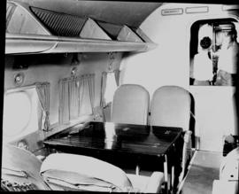 December 1948. Interior of Avro York.