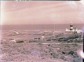 Cape Agulhas, 1945. Lighthouse.