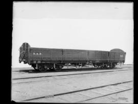 SAR bogie drop-sided wagon Type D-2 No 4143, earlier CSAR Type G2.