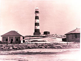 Dassen Island, 1946. Lighthouse.