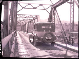"""Nelspruit district, 1926. Bridge over Crocodile River at Karino."""