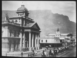 Cape Town, 1891. Adderley Street.