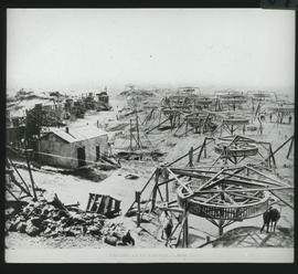 Kimberley, 1875. Diamond mine.