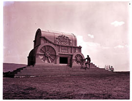 """Vryheid district, 1977. Blood River monument."""