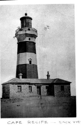 Port Elizabeth district, 1948. Cape Recife lighthouse.