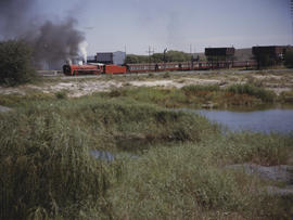 Orange Free State, 1985. SAR Class 26 No 3450 'Red Devil'. [T Robberts]