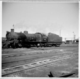 Germiston, July 1971. SAR Class 12A locomotive.