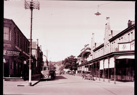 """Kimberley, 1934. Business street."""