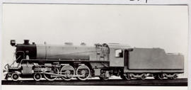 SAR Class 16D No 860 'Big Bertha' built by Baldwin Locomotive Works in 1926.