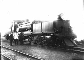 SAR Class GB (1st order) No 1650 later renumbered No 2166, built by Beyer Peacock & Co in 192...
