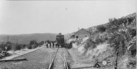 Thorngrove, 1895. Cape 7th Class, later SAR Class 7 in station. (EH Short)