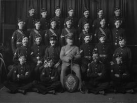 East London, 1909. Ambulance Division.