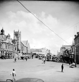 Port Elizabeth, 1930. Main Street from City Hall.