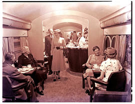 """1952. Blue Train lounge car."""