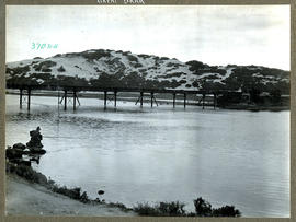 """George district, 1925. Bridge over the Great Brak River."""
