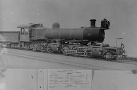 SAR Class ME No 1618 built by North British Loco Works No 19355 in 1912.