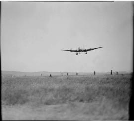 Cape Town, May 1946. Trip to Cape Town with SAA Douglas DC-4 ZS-AUA 'Tafelberg', aircraft about t...