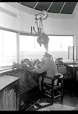 Johannesburg, 1938. Rand airport. Inside control tower.