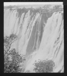 Zimbabwe. Victoria Falls from eastern extremity.
