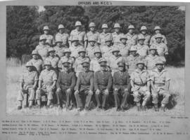 SAR Telegraph Company, officers and NCO's. Service 1939-45 in Egypt, Syria, Palestine and Italy.
