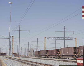 Bapsfontein district, 1982. Shunting area at the Sent marshalling yard. [T Robberts]