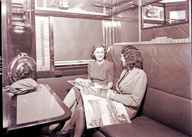 """1940. Blue Train two-berth compartment."""