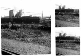 Germiston, July 1971. Class S2 locomotive shunting.