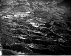 George district, 1935. Aerial Views of Outeniqua mountains.
