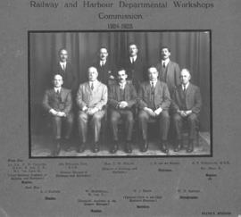 Railway and Harbour Departmental Workshops Commission. (Payne's Studios)