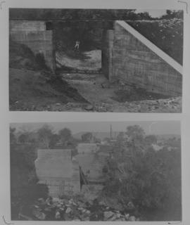Page 14. 1912. Small bridge with one 15 foot deck span (top). Selati river bridge with three 100 ...