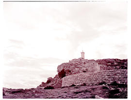 Mossel Bay, 1943. Cape St Blaize lighthouse.