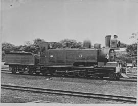 "NGR No 48 ""Havelock"". First locomotive built in SA. Shown here as built as a 2-8-2TT."