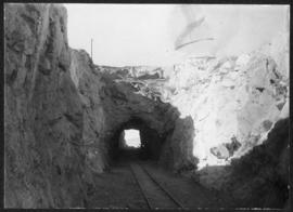 Windhoek, South-West Africa. Railway tunnel at Kruin, south of Windhoek. (Donated by Mr HJ Price)