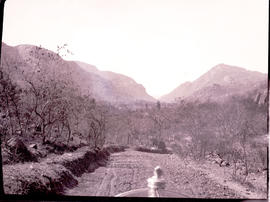 """Nelspruit district, 1926. Approaching Crocodile Poort."""