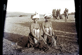 Transkei, 1932. Two young women of the Bomvaan tribe.
