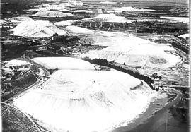 Vryheid district, 1933. Aerial view of Hlobane mine.