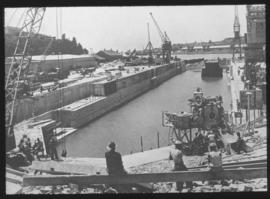 East London. Princess Elizabeth graving dock in Buffalo harbour.