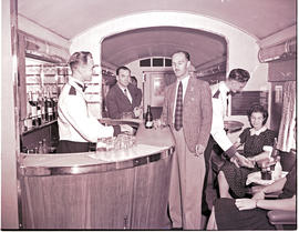 """1946. Blue Train lounge car."""