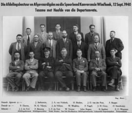 Windhoek, 12 September 1940. Spoorbond Conference delegates and management.