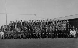 Kroonstad. Mr H Lyle, staff and students of the Railway Training College.
