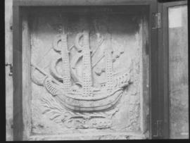 "Cape Town. Frieze of the ship ""Good Hope""."