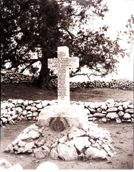Vryheid district, 1946. Memorial to Prince Imperial at Nqutu.