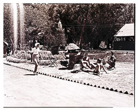 """Aliwal North, 1946. At the swimming pool."""
