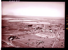 """Kimberley district, 1936. Aerial view of mine."""