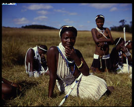 Zululand, 1961. Young Zulu women.