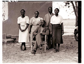 Transkei, 1940. Teaching staff.