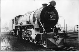 SAR Class 16D No 862 'Big Bertha' built by Baldwin Locomotive Works in 1926.