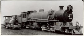 SAR Class MC1 No 1642 alongside a Darjeeling Himalayan Railway locomotive manufactured at the sam...