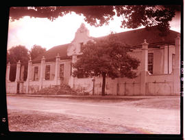 """Uitenhage, 1940. Railway Institute, in the old drostdy."""